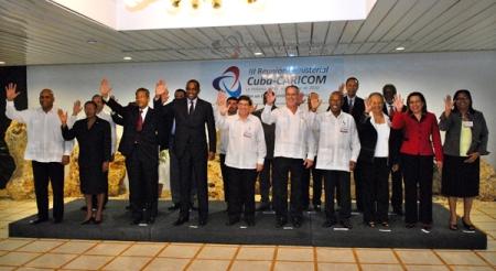 Cuba-Caricom, el caribe contra el bloqueo norteamericano a Cuba.