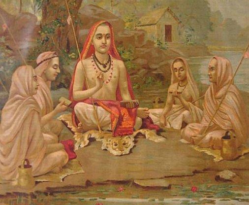 Portada - Devoto hindú practicando jñana yoga uno de los métodos que se cree que ayudan a alcanzar mukti (Wikimedia Commons)_0